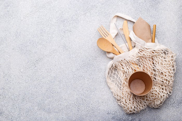 Zero waste bamboo cutlery