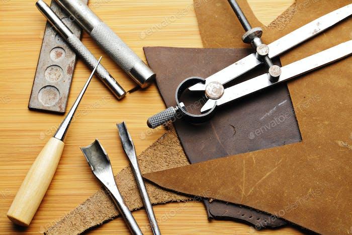 Handmade Lethercraft tool
