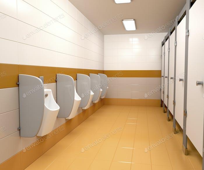 Men's public toilet