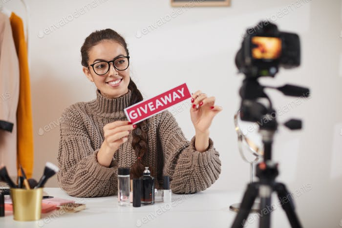 Social Media Influencer Giveaway