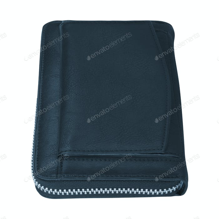 A leather wallet