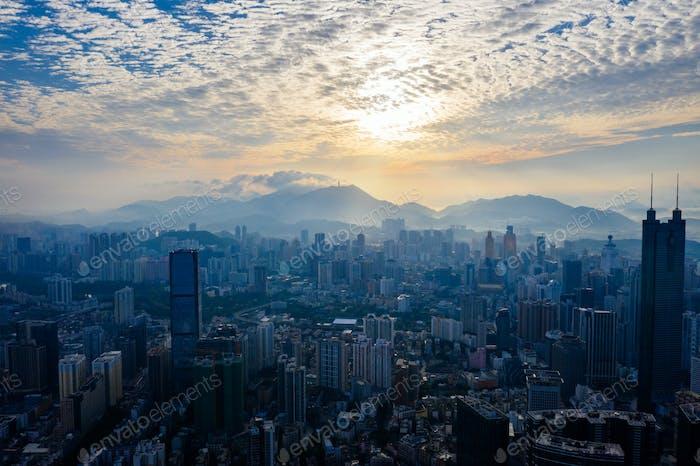 Shenzhen Stadt