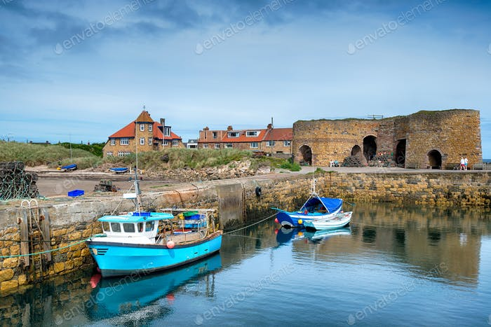 Fishing Boats at Beadnell