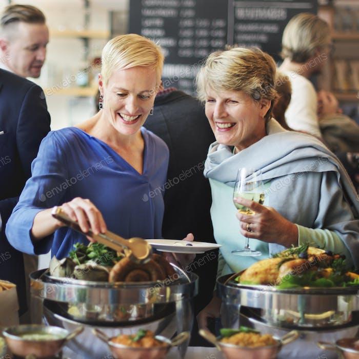 Essen Buffet Catering Essen Party Sharing Konzept