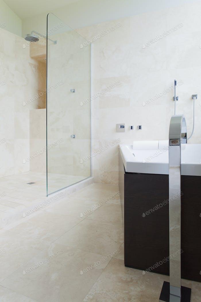 49411, Modernes Badezimmer Interieur