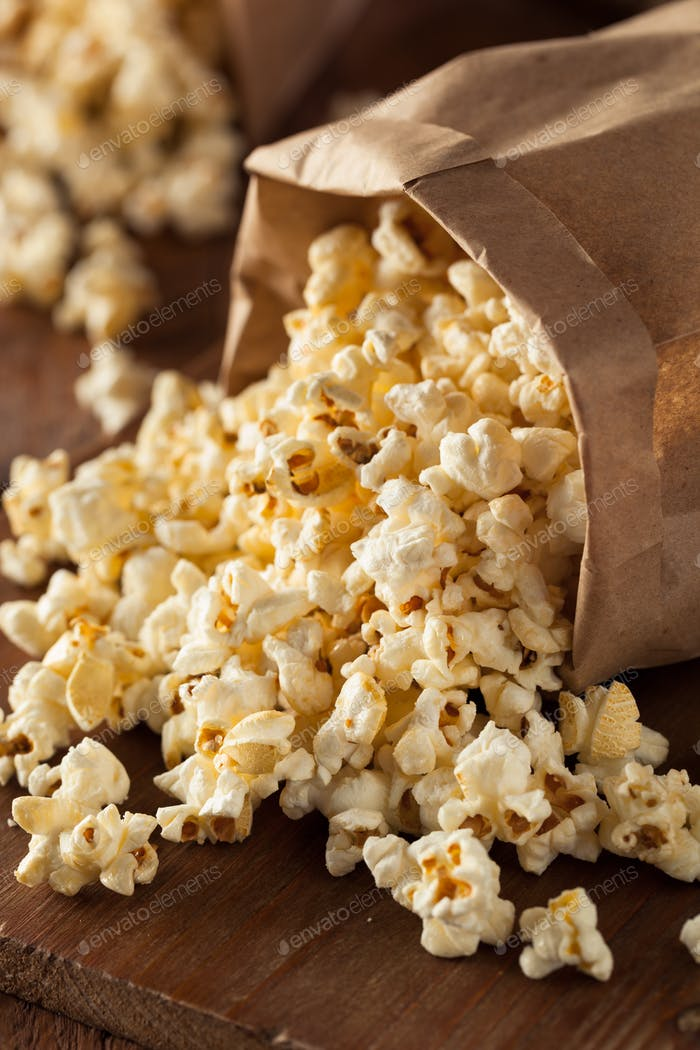 Homemade Kettle Corn Popcorn