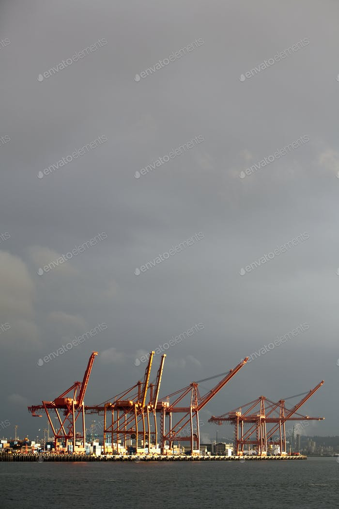 Port of Seattle, Elliot Bay, Seattle, Washington