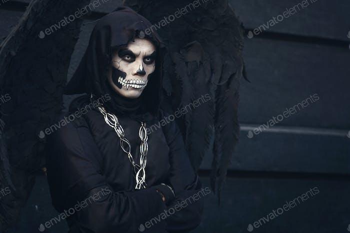Scary Skull Costume