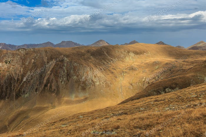 mountain landscape. Fagaras Mountains, Romania