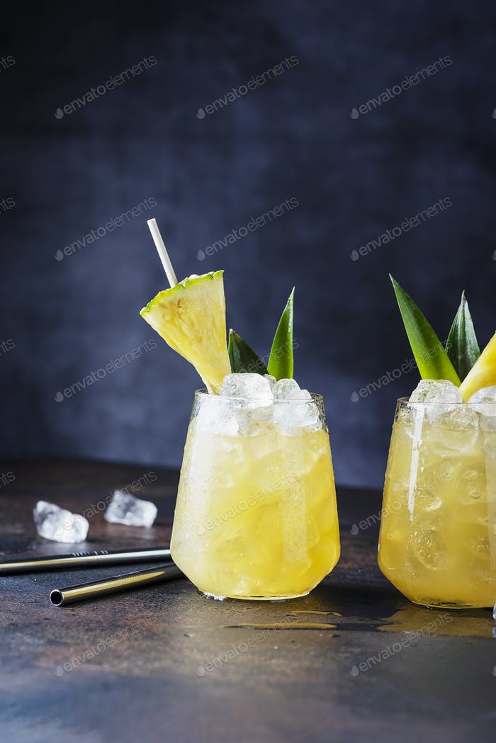 Sommer-Cocktail- und Bar-Konzept