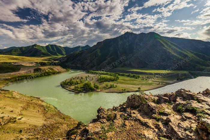 Russia, Altai mountains, Severo-Chui Range