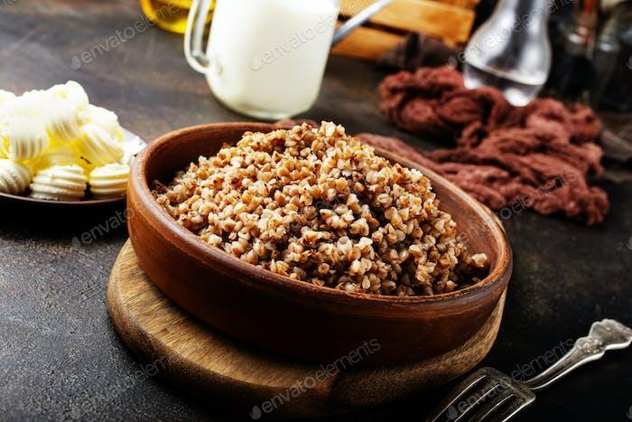 trigo sarraceno cocido