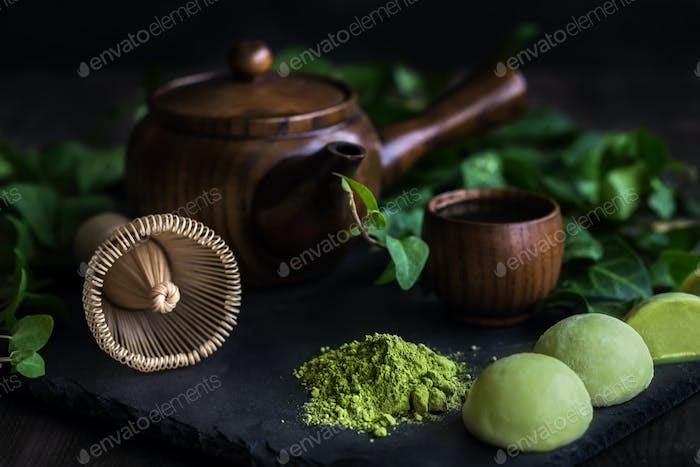 Japanese tea matcha