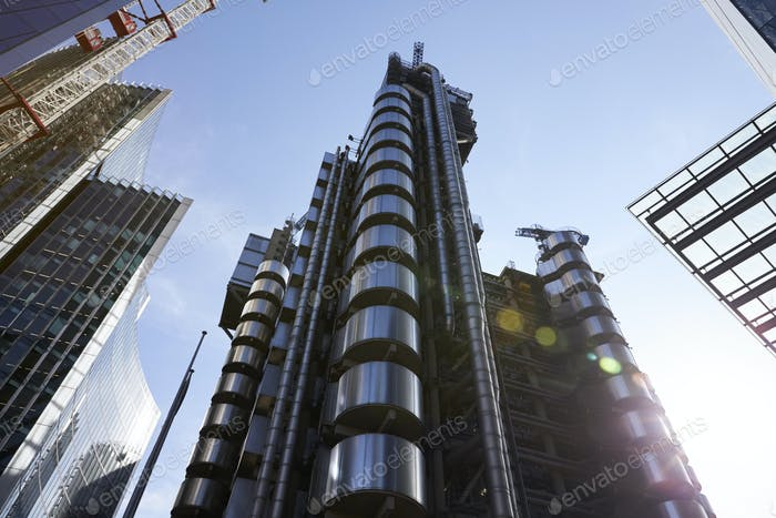 LONDON - MAY, 2017: Lloyds of London building