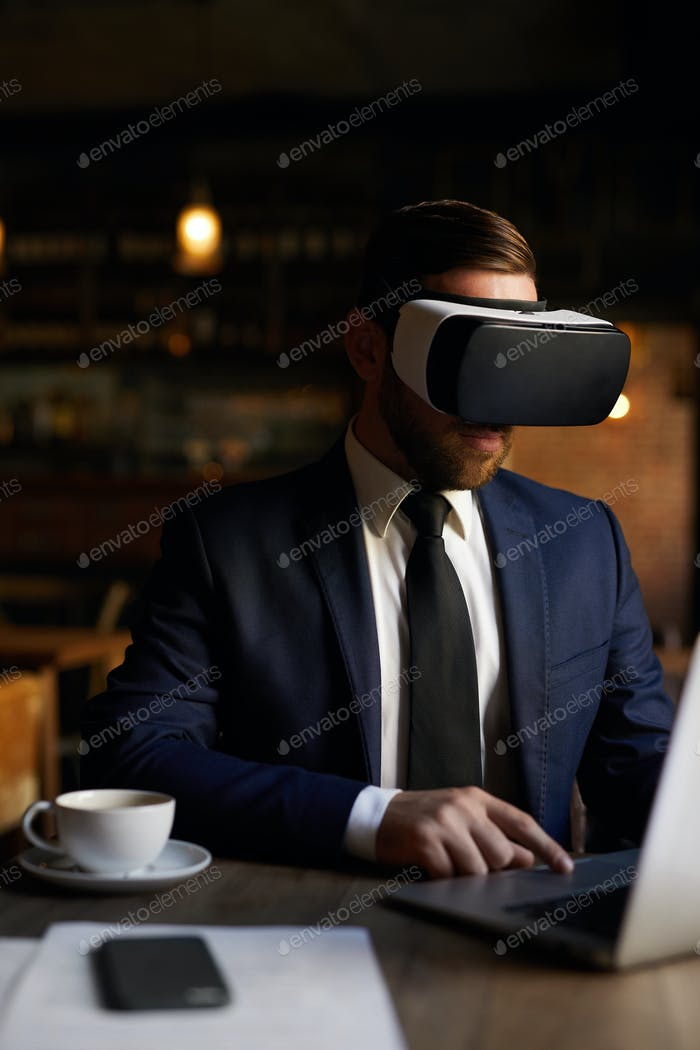 Business virtual reality