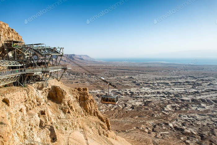 Cable car to Masada