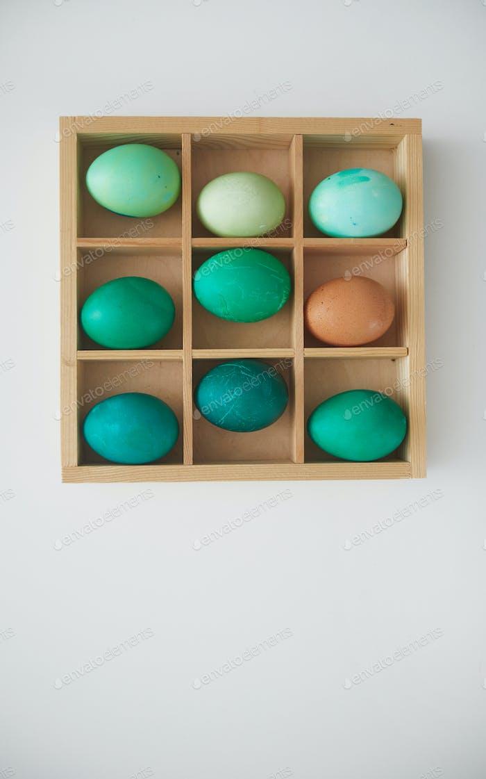 Huevos de Pascua Composición