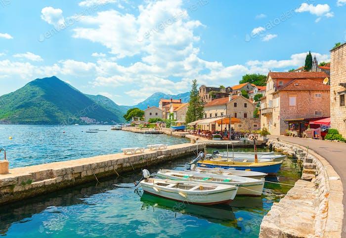 City Perast Montenegro