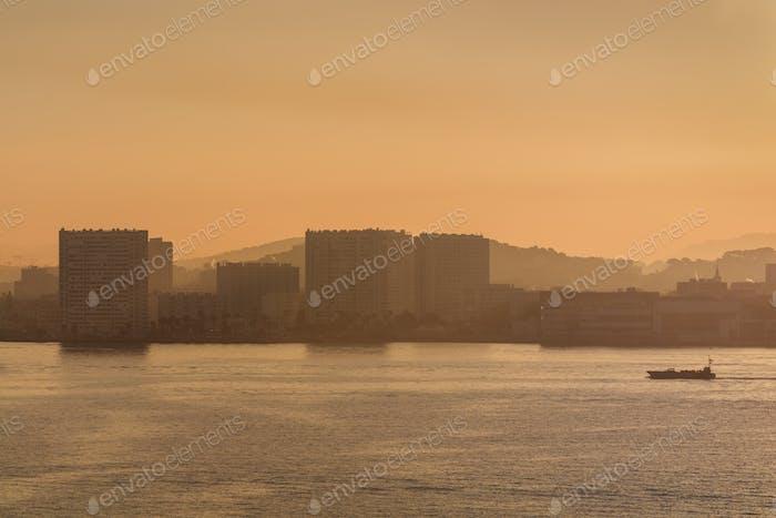 port of Toulon, France