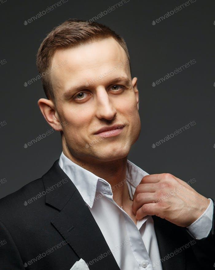 Портрет успешного делового человека.