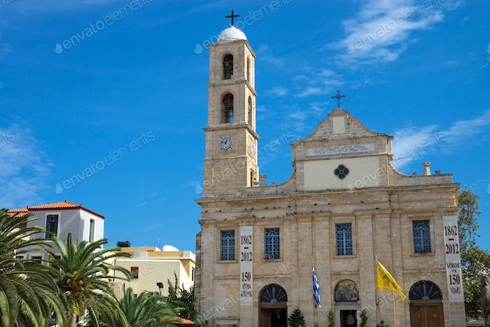 The cathedral of Chania, Crete