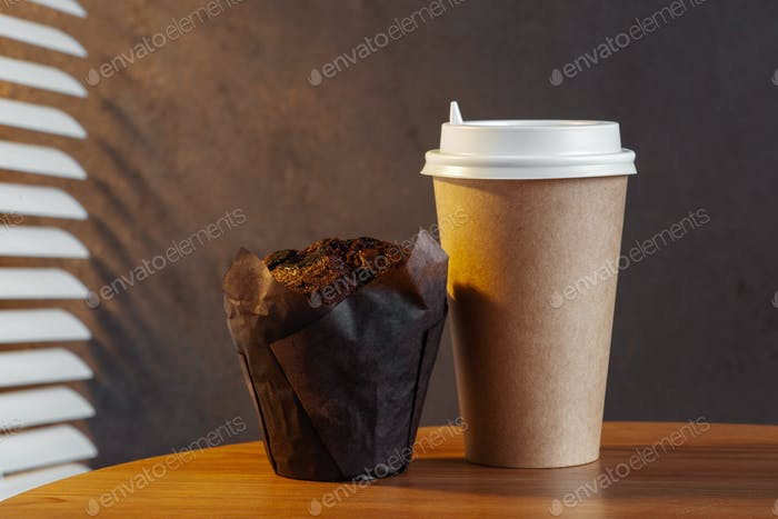 Morning Coffee, Takeaway Food And Drinks Concept