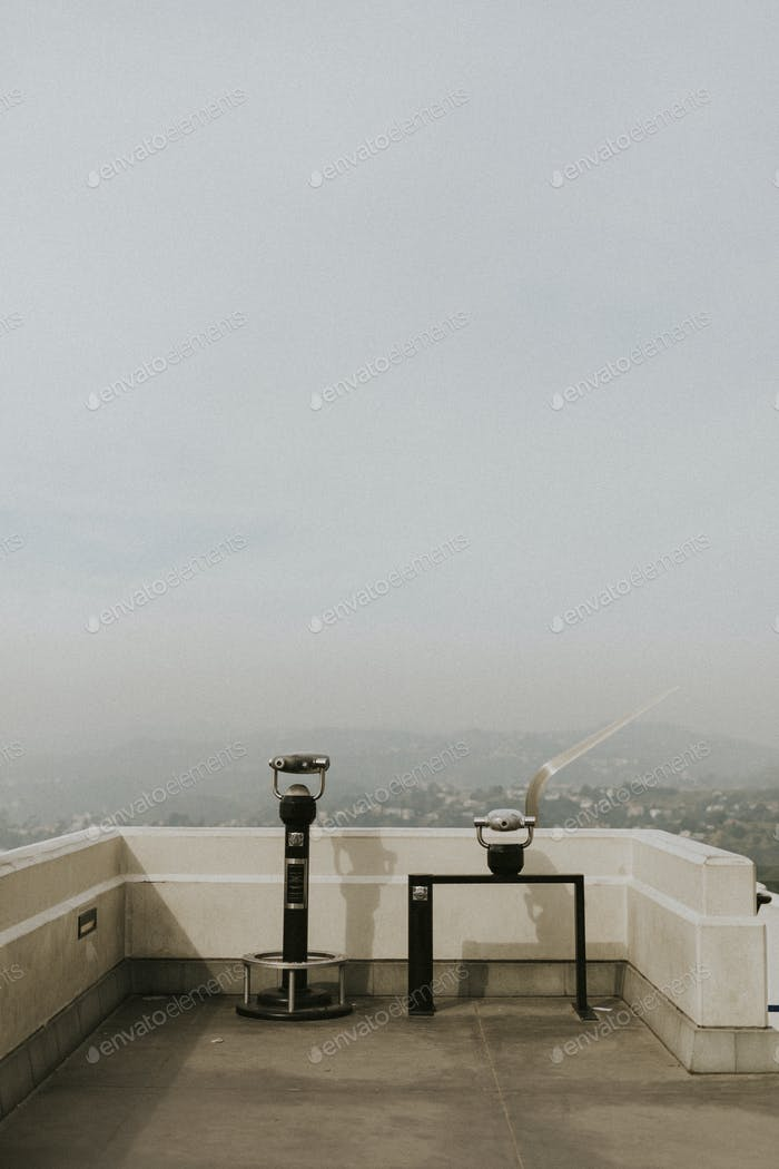 Griffith Observatory viewpoint in Los Angeles