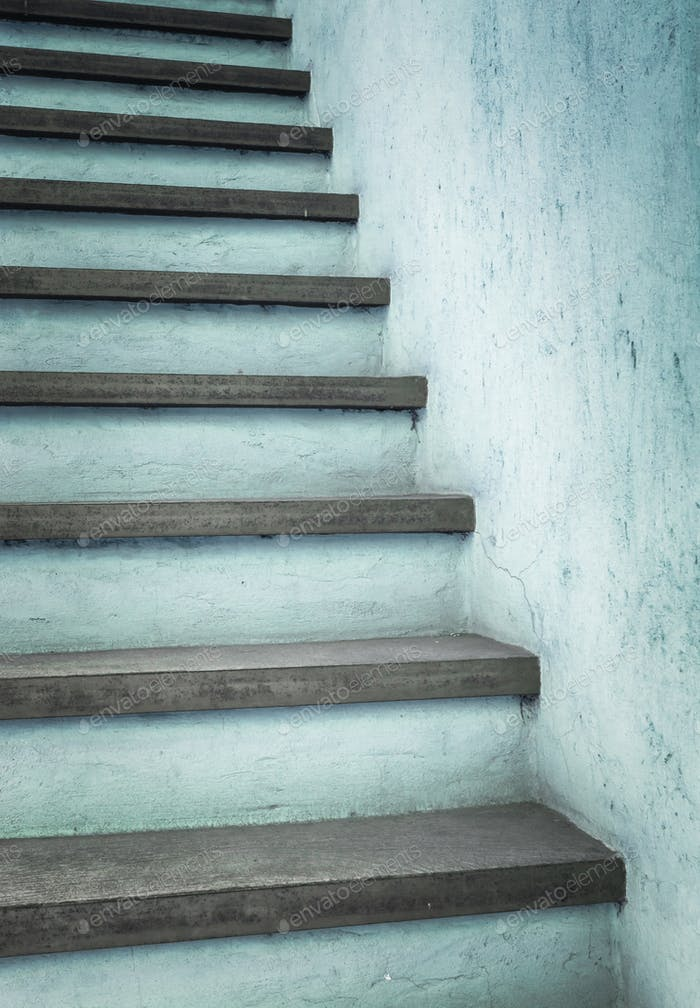 Azure stairs