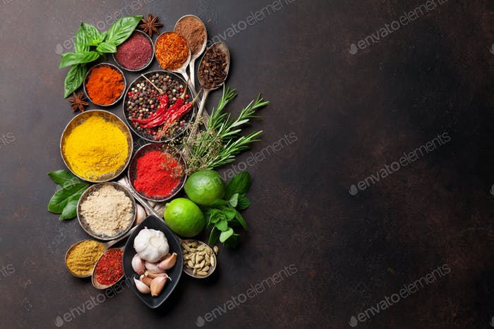 Thumbnail for Various spices and herbs
