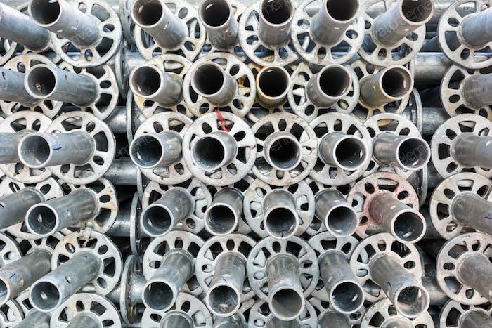 steel pipe of scaffolding