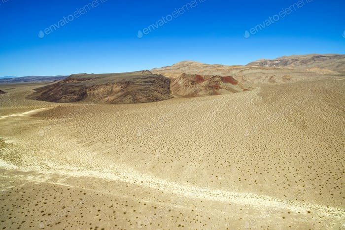 Landscape near Death Valley