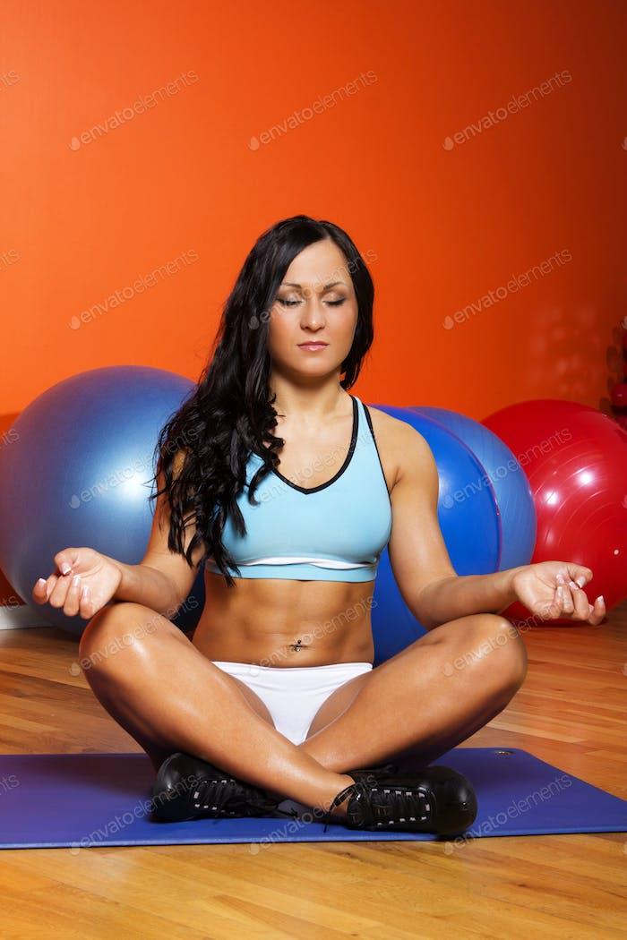 Изображение женщины мышц