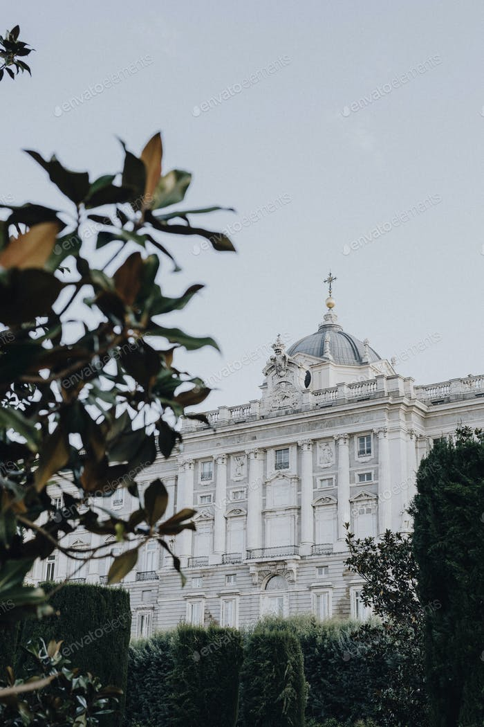 Spanish royal palace