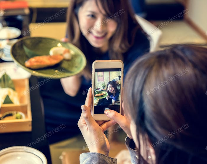 Japanese dining lifestyle eating