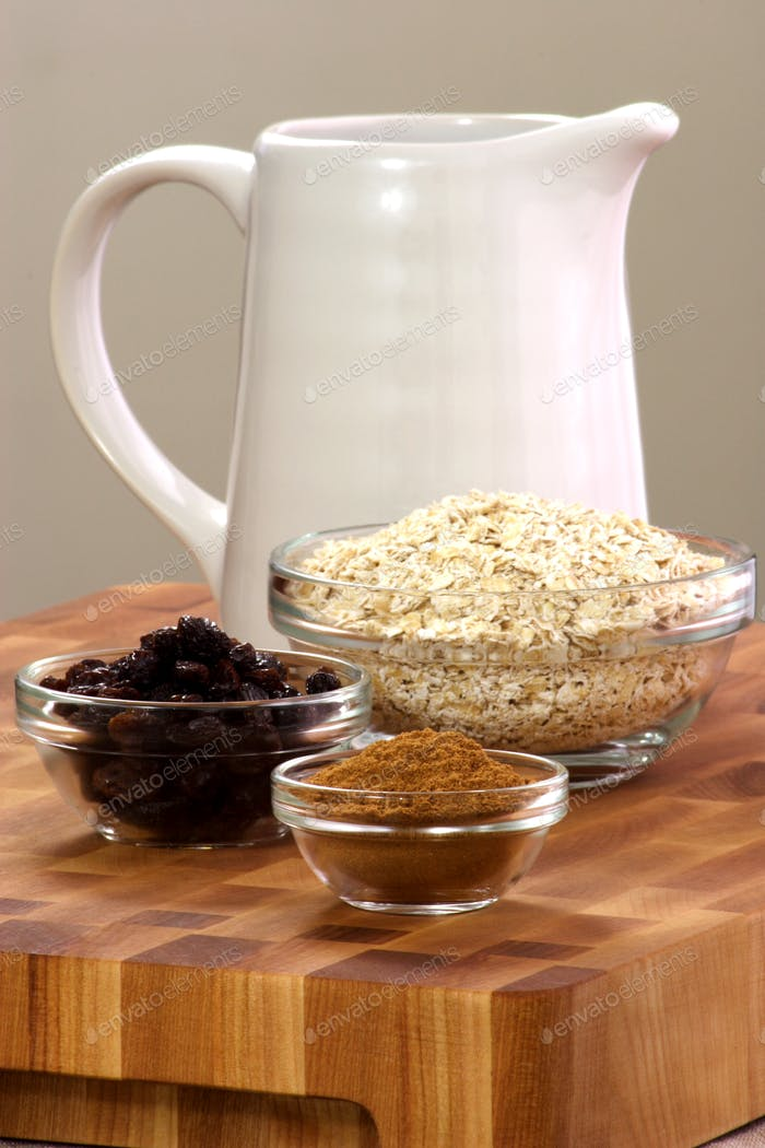 oatmeal ingredients
