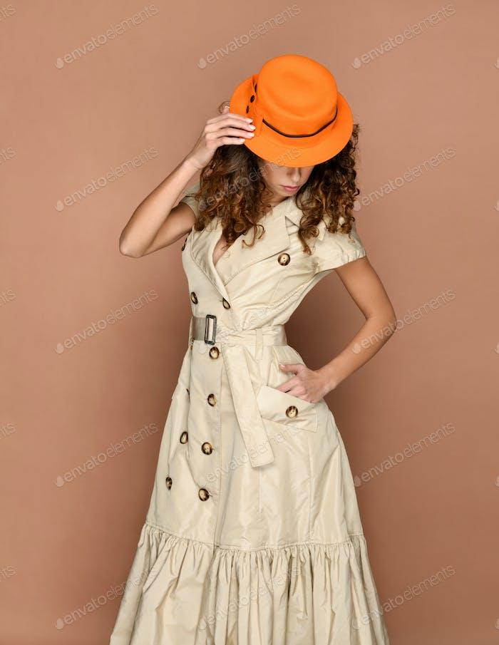 Elegant businesswoman in Metropolitan fashion