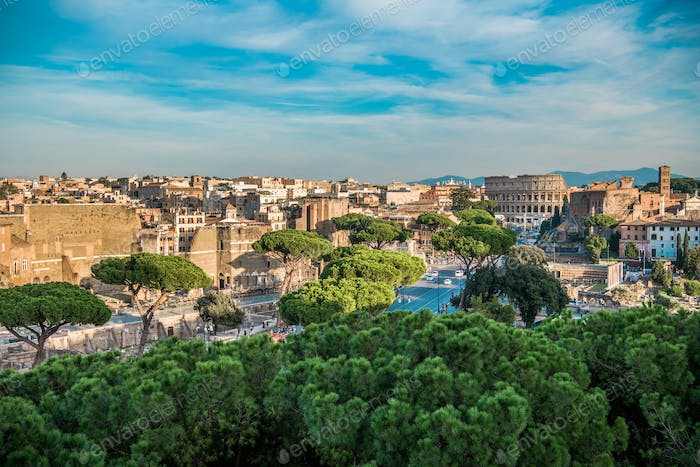 City of Rome Panorama