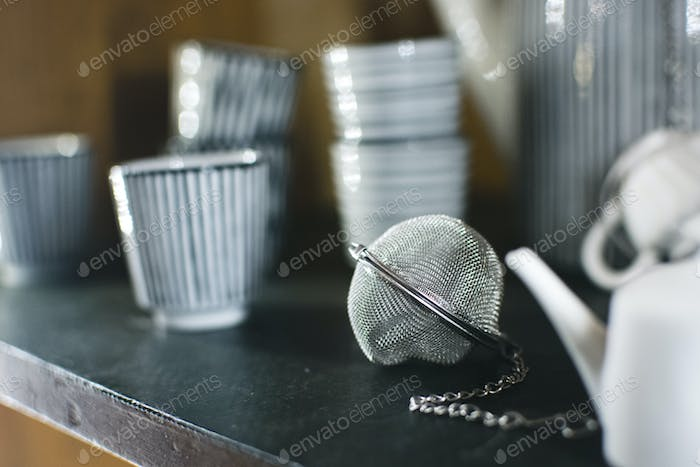 Tea infuser in a store