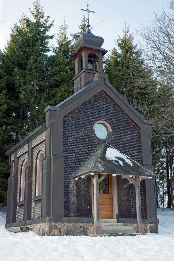 Small chapel in the Black Forest