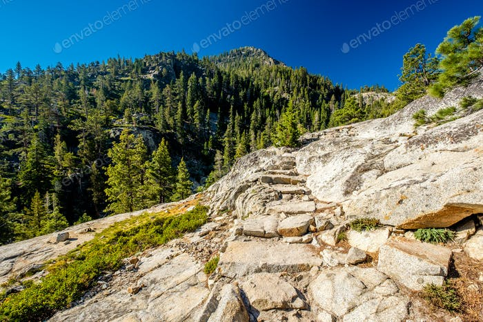 Thumbnail for Mountain at Lake Tahoe in California