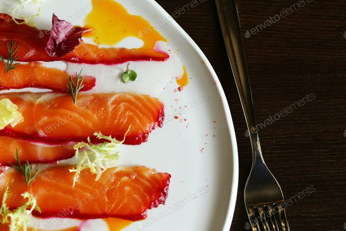 Salted Red Fish Salmon
