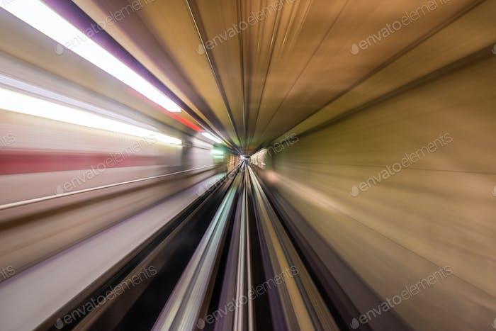 Underground Motion Blur