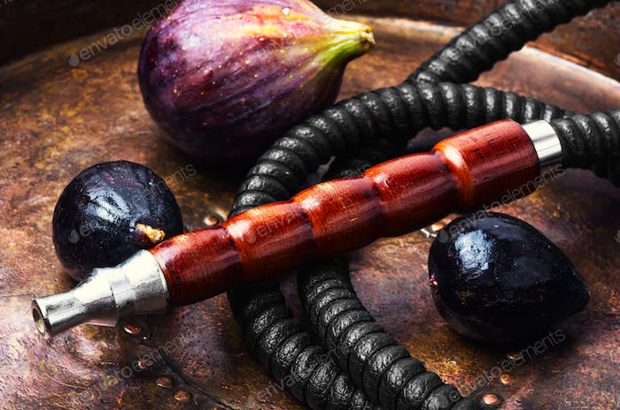 Egyptian shisha with figs