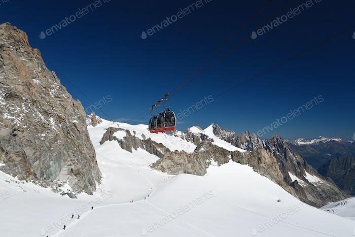 Mont Blanc - Mer de glace gletscher