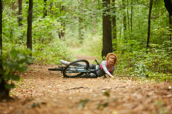 Fallen off bicycle
