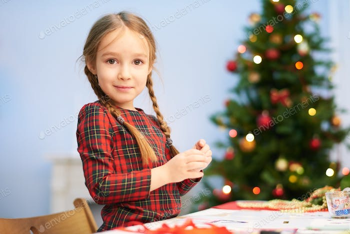 Preparing Christmas Surprise