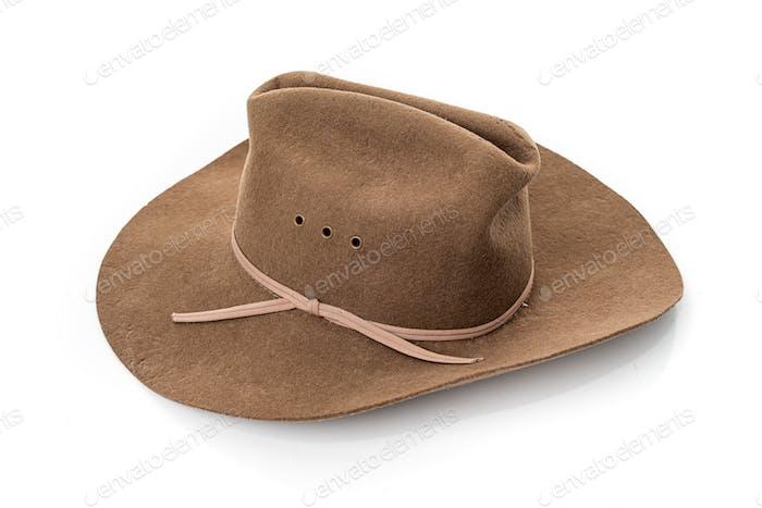 cowboy hat closeup