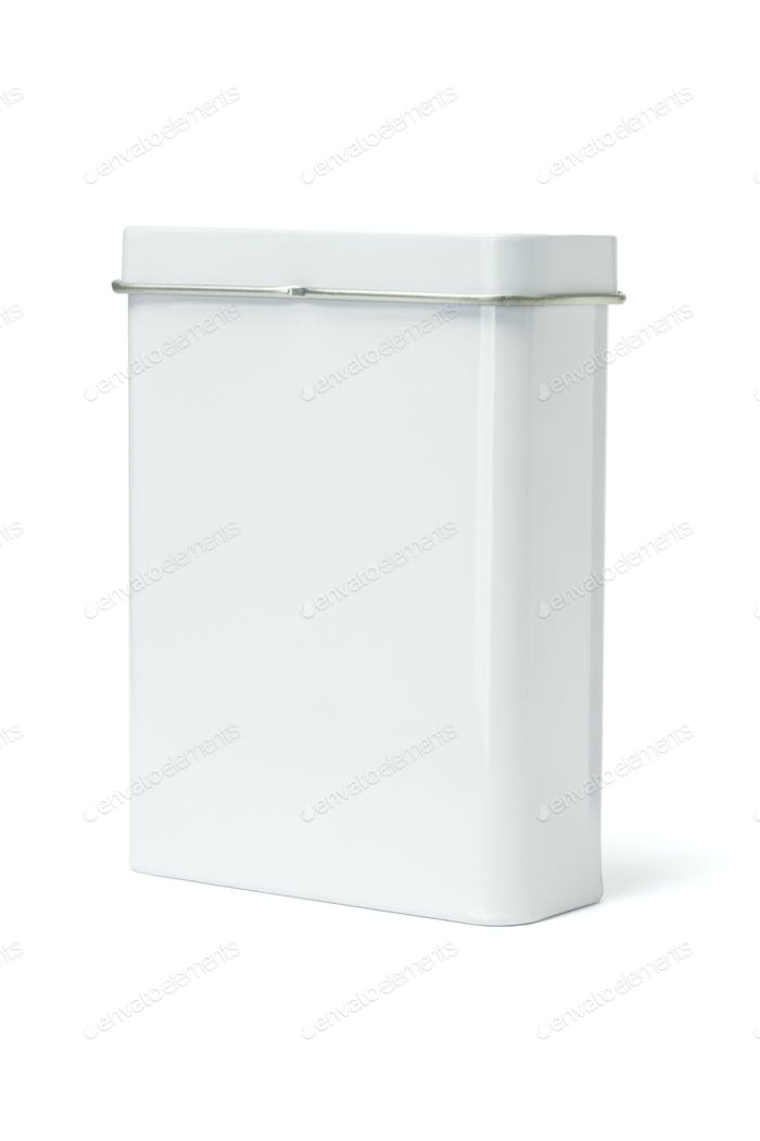 Blank Metal Container