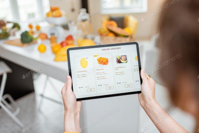 Compras de alimentos en línea