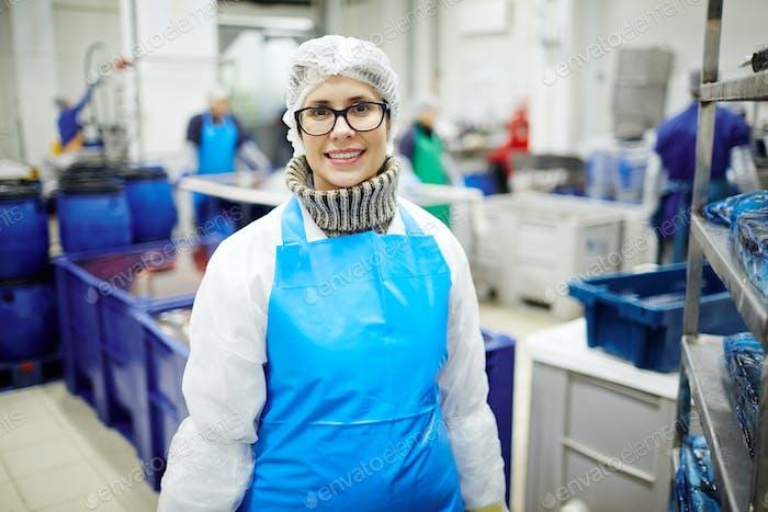 Mitarbeiter der Produktionsabteilung
